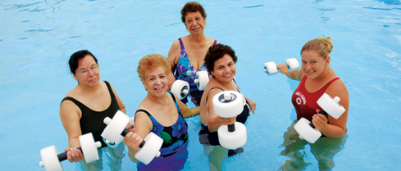 Water Fitness begins Nov. 2 and Members are slowly returning.  Updated Fitness Schedule for Nov. & Dec.