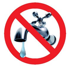 symbol of no water